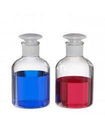 бутыль д/реаг. с притертой пробкой (светлое стекло узк. горловина) 50 мл (Чехия) (2002/В/50)