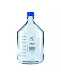 бутыль д/реаг. с PP (синей) винтовой крышкой и градуировкой  5000 мл ТС (SIMAX) (2070/M/5000)