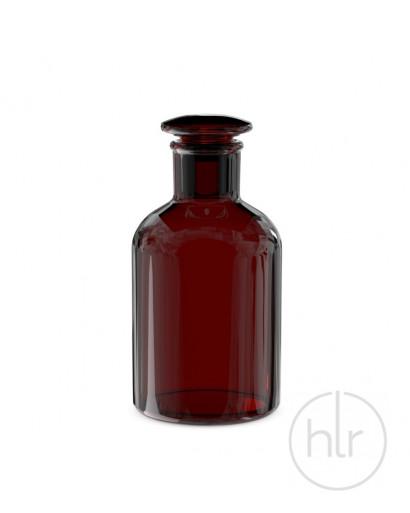 Бутыль для реагентов с притертой пробкой (темное стекло узкое горло) 2000 мл