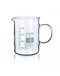 стакан с ручкой и градуировкой (SIMAX) ТС 1000 мл (154/1000)
