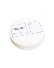 фильтры лабораторные обеззоленные лента белая d=180мм