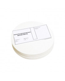 фильтры лабораторные обеззоленные лента белая d=125 мм