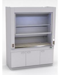 Шкаф лабораторный цельнометаллический.Рабочая поверхность - КЕРАМИКА.Комплектуется:полипропиленовым сливом, краном для холодной воды.Габариты (ДхГхВ), мм: 1800x750x2400.