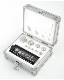 Набор гирь, 1мг-100г М1 (4 кл.т.), в алюминиевом боксе, ULAB