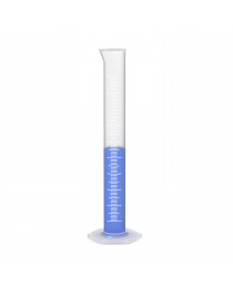Цилиндр мерный с носиком и объемной градуировкой 250 мл (ПП) «Labexpert»