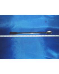 Шпатель-ложка из нерж. стали длиной 150 мм