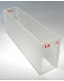 Кювета для спектрофотометрии длиной оптического пути 100 мм