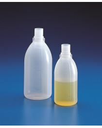 бутыль п/этиленовый с узким горлом светлый без крышки с градуировкой 50 мл (Kartell) (15801)