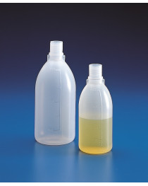 бутыль п/этиленовый с узким горлом светлый без крышки с градуировкой 100 мл (Kartell) (15821)