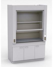 Шкаф лабораторный специальный Рабочая поверхность - ЛАБГРЕЙД. Без коммуникаций и без вентилятора.  Габариты (ДхГхВ), мм:  1500x750x2400.