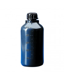 бутыль п/этиленовый с узким горлом темный  500 мл, (Kartell) (3241)