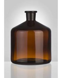 бутыль 2 л для реактивов к бюреткам, темное стекло, Чехия (2100/Н/2000)