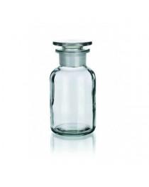 бутыль д/реаг. с притертой пробкой (светлое стекло шир. горловина) 250 мл (Чехия) (2006/В/250)