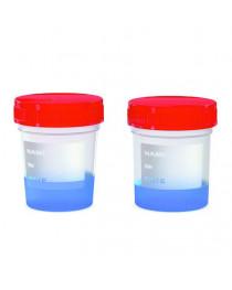 """контейнер для биологических проб (асептическая) в инд. упак. ПП 200 мл """"Kartell"""" (5644)"""