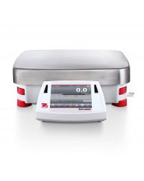 Весы прецизионные с увеличенным НПВ, EХ35001, 35000 г/0,1г, внутренняя калибровка, сенсорный экран, OHAUS