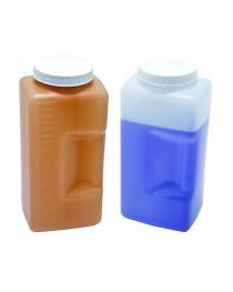 бутыль п/этиленовый градуированный квадратный светлый 250 мл, (Kartell) (611)