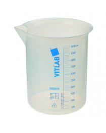 стакан с носиком и градуировкой ПМП 150 мл (Vitlab) (60903)