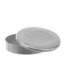 чашка алюминиевая с крышкой d=100 mm, h=20 mm  Bochem, Германия (8762)