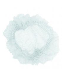 шапочка одноразовая шарлотка белая (уп. 100 шт)