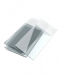 стекло предметное 26x76x1,0 мм с белым полем для записи (100 шт/уп) (DURAN, Германия) (235501206)