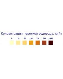 """Индикаторные полоски """"Пероксид-1000мг"""""""