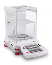 Весы полумикро, EX125D, 52-120 г/0,01-0,1 мг, автоматическая внутренняя калибровка, сенсорный дисплей, OHAUS