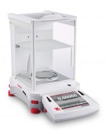 Весы полумикро, EX225D/AD, 120 г - 220г/0,01-0,1 мг, автоматическая калибровка, сенсорный дисплей, автоматические дверцы встроенный ионизатор, OHAUS