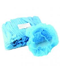 шапочка одноразовая шарлотка голубая (уп. 100 шт)