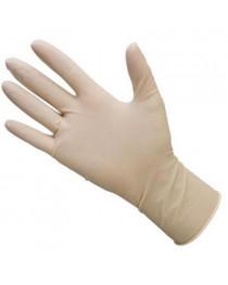 перчатки латексные смотровые опудренные (стерильные)