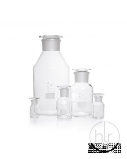 Бутыль для реактивов с притертой пробкой (светлое стекло широкое горло) 1000 мл (DURAN,Германия) (2118554)