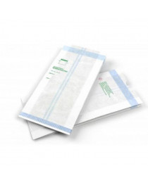 Пакет бумажный со складкой Steriking 140х50х330 мм (PB5)