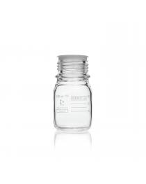 Бутыль для реагентов PURE, с пробкой и градуировкой 100 мл, GL 45 (DURAN, Германия) (818012406)