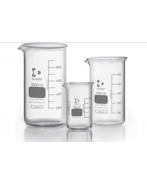 стакан высокий с носиком и градуировкой 250 мл (Super Duty) (DURAN, Германия) (211183604)