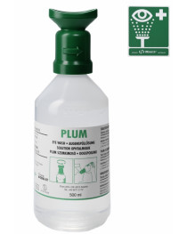 Флакон для промывки глаз, NaCl 0.9%, бутылка, 500 мл, (B-Safety) (9.733 793)