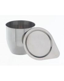 Тигель нержавеющая сталь 70 мл (d=45mm, l=50 mm, s=1,0 mm) Bochem, Германия (8883)