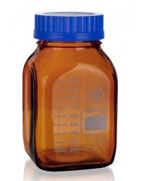 бутыль д/реаг. с винтовой крышкой и град. темное стекло шир горло 500 мл ТС (SIMAX) (2080/H/500)