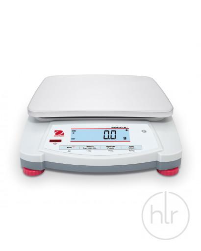 Весы портативные, NVТ22000, 22 кг/1г, платформа 230х174 мм, OHAUS