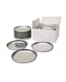 Алюминиевые тарелочки к влагомерам с бортиком 100 мм, 80 шт/уп.