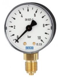 Манометр с трубкой Бурдона модель110.10; 0...1 МПа (Wika, Германия)