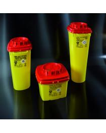 Контейнер для мед. отходов квадратный 5 л, 167x167x373 мм (Nuova Aptaca) (8050)