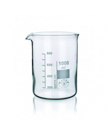 стакан низкий с носиком и градуировкой 25 мл ТС (SIMAX) (155/25)