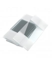 стекло предметное 25,4 х 76,2 с двумя белыми полями на обеих сторонах стекла, MS7108