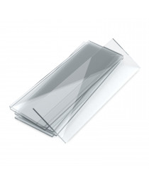 стекло предметное 25,4 х 76,2 со шлифованными гранями MS7101