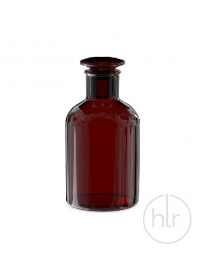 бутыль д/реаг. с притертой пробкой (темное стекло узк. горло) 1000 мл