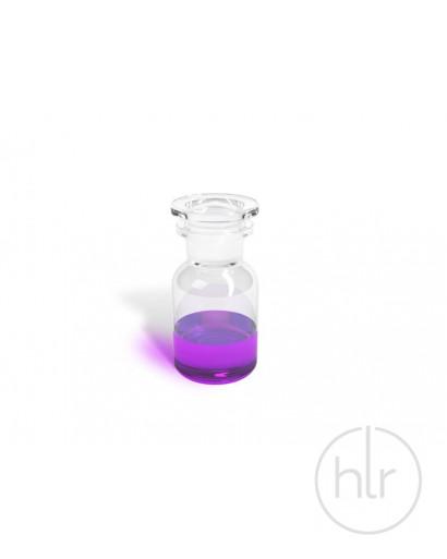 бутыль д/реаг. с притертой пробкой (светлое стекло шир. горло) 125 мл