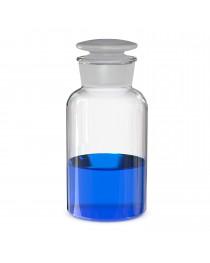 бутыль д/реаг. с притертой пробкой (светлое стекло шир. горло) 500 мл
