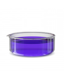 чашка кристаллизационная с носиком D=180х90 мм, 1800 мл