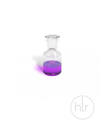 бутыль д/реаг. с притертой пробкой (светлое стекло узк. горло) 125 мл