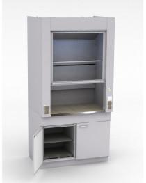 Шкаф лабораторный цельнометаллический.Рабочая поверхность - КЕРАМИКА.Без коммуникаций и без вентилятора.Габариты (ДхГхВ), мм: 1200x750x2400