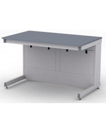 Стол лабораторный.Материал рабочей поверхности стола: полимерный композит на основе эпоксидных смол DURCON без бортика.Габариты (ДхГхВ), мм: 1200х750х750 (для работы сидя).